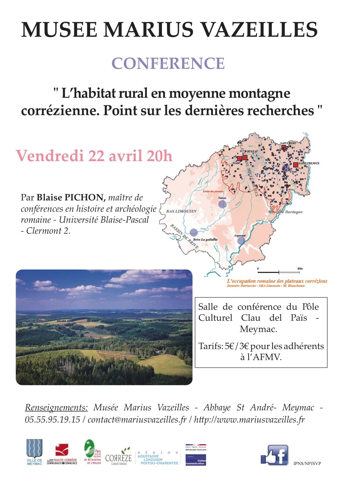Conf rence l 39 habitat rural en moyenne montagne for Habitat limousin