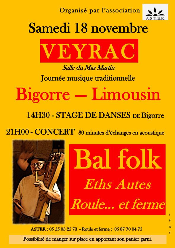 Samedi 18 novembre Veyrac