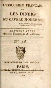 Frontispice L'Épicurien_français