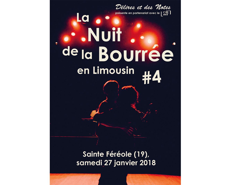 Nuit de la Bourrée en Limousin 2018