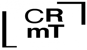 Logo CRMTL - noir sur fond blanc