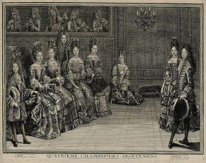 05 - Scène de danse (Quatrieme Chambre des Apartments_1696 Versailles)