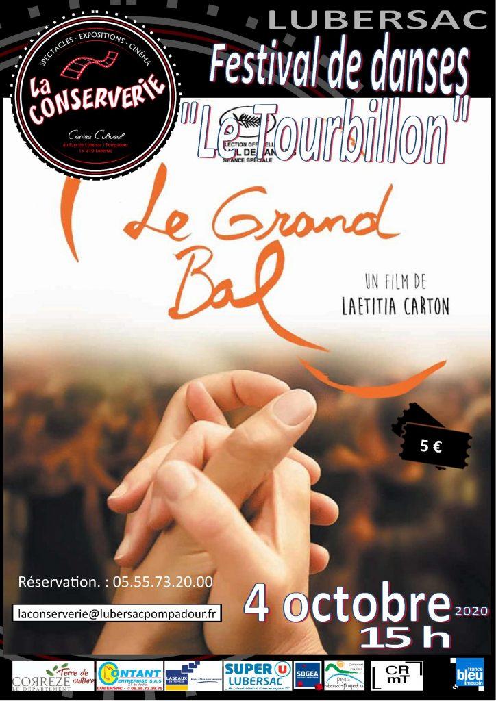Affiche La Conserverie  Le Grand Bal D4