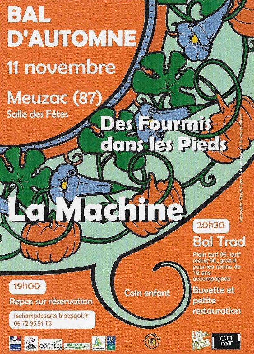 Bal dAutomne Le Champ des arts 20171111