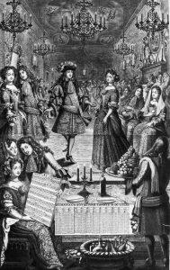 03 - Bal à la cour de Louis XIV (Almanach royal 1682)