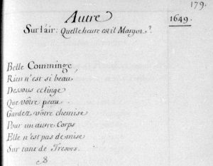 10 - Belle Comminge (1649 recueil Maurepas vol22) copie