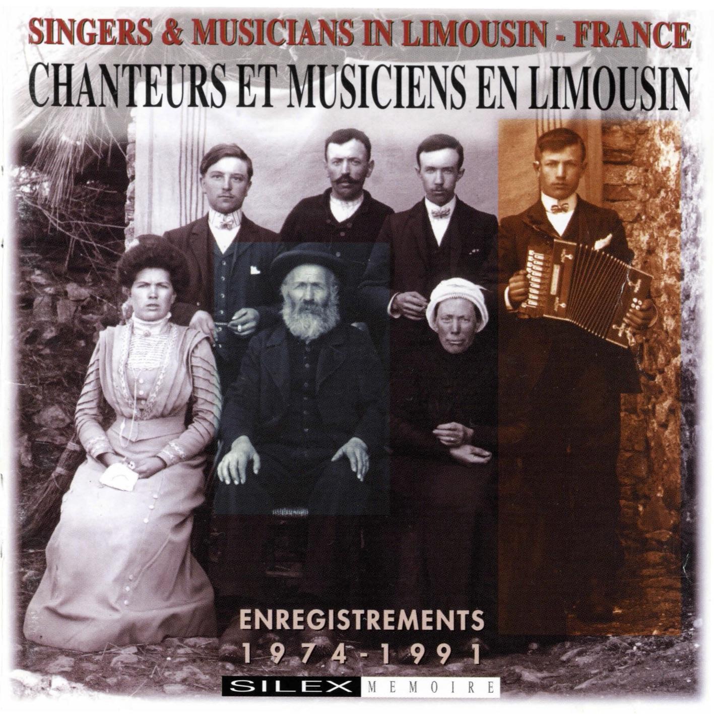 Chanteurs et Musiciens en Limousin Couverture
